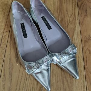 Marc Jacobs - metallic shoes